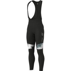 Alé Cycling Solid Pulse Bib Tights Herre black-grey-white